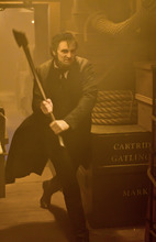 President Lincoln (Benjamin Walker) aims to take his ax to the undead in