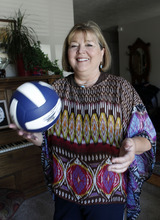Al Hartmann  |  The Salt Lake Tribune Karen Lamb was BYU's first female scholarship athlete where she played volleyball.  She helped usher in the Title IX era at the university. She went on to a long coaching career and still runs camps in New Mexico, Arizona and Texas.
