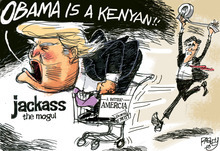 This Pat Bagley editorial cartoon appears in The Salt Lake Tribune on Thursday, May 31, 2012.