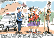 This Pat Bagley editorial cartoon appears in The Salt Lake Tribune on Wednesday, June 13, 2012.