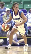 Tribune file photo Utah Starzz Julie Krommenhoek during a 2000 game in Salt Lake City.