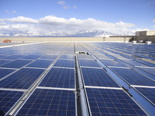 Courtesy eBay The online auction site eBay is planning a new, green data center in South Jordan next to its existing one. The existing center has an array of solar panels on its roof.