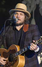 Paul Fraughton | Salt Lake Tribune Jeff Tweedy performs with Wilco at the Red Butte Gardens Amphitheatre  Monday, June 25, 2012