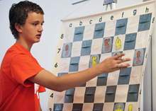 Lennie Mahler  |  The Salt Lake Tribune Kayden Troff, 14, of West Jordan, is the No. 1 U.S. chess player for his age group. Troff will train with World Chess Champion Garry Kasparov.