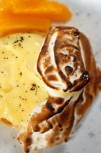 Trent Nelson  |  The Salt Lake Tribune A citrus tart at the restaurant Pallet in Salt Lake City.
