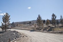 Michael Mangum  |  Special to the Tribune  The property of Dave Taylor is shown on Wednesday, June 27, 2012 after his house was completely destroyed when the Wood Hollow fire ripped through the area of Indianola, Sanpete county earlier in the week.