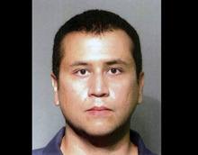 FILE - This file booking photo provided by the Seminole County Sheriff's Office shows George Zimmerman. Zimmerman is charged with second-degree murder in the shooting of Trayvon Martin. Zimmerman has a second bond hearing Friday, June 29, 2012. He was released on $150,000 bond in April, but the judge revoked the bond after prosecutors presented evidence that Zimmerman and his wife had misled the court about how much money they had.  (AP Photo/Seminole County Sheriff's Office, File)