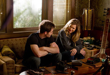 This film image released by Disney/Dreamworks II shows Chris Pine, left, and Michelle Pfeiffer in a scene from