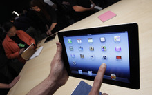 (AP file photo/Paul Sakuma) Apple has agreed to pay a Chinese company $60 million to settle a dispute over ownership of the iPad name