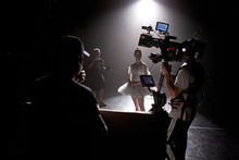 Christiana Bennett performs in the pilot of