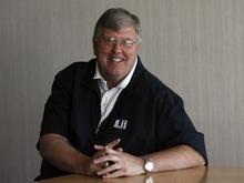 Utah State basketball coach Stew Morrill