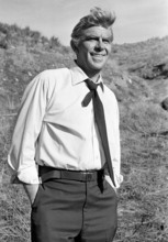FILE - This Feb. 23, 1979 file photo shows actor Andy Griffith on the set of TV's