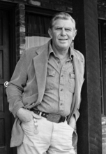 FILE - This Jan. 31, 1983 file photo shows actor Andy Griffith posing in Los Angeles to promote his upcoming CBS-TV film,