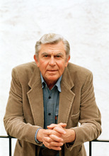FILE - This March 6, 1987 file photo shows actor Andy Griffith in Toluca Lake, Calif. Griffith, whose homespun mix of humor and wisdom made