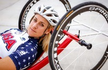 Trent Nelson  |  The Salt Lake Tribune Utahn Muffy Davis is a Paralympic skier who has made the transition to one of the world's top handcyclists.