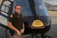 Utah State Trooper Aaron Beesley. Courtesy image