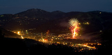 Courtesy of Mark Maziarz The July Fourth Fireworks show in Park City.