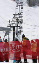 Steve Griffin  |  The Salt Lake Tribune Park City Mountain Resort and its predecessor, Park City Ski Area, have leased terrain from United Park City Mines for four decades. Talisker Corp. acquired United Park City Mines in 2003.