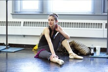 BREAKING POINTE Pictured: Allison DeBona. Erik Ostling/The CW ©2012 THE CW NETWORK, LLC. ALL RIGHTS RESERVED.