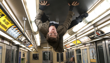 In this film image released by Sony Pictures, Andrew Garfield portrays Peter Parker and Spider-Man in a scene from