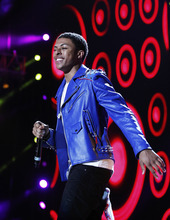 Diggy Simmons performs at the Essence Music Festival in New Orleans, Thursday, July 5, 2012. (Photo by Bill Haber/Invision/AP)