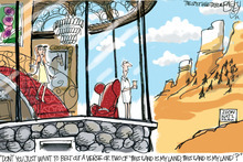 This Pat Bagley editorial cartoon appears in The Salt Lake Tribune on Tuesday, July 10, 2012.