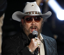 This May 12, 2011 file photo shows singer Hank Williams Jr. performs during the CMT Disaster Relief Concert in Nashville, Tenn. Williams latest album,