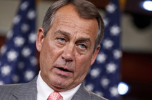 (AP Photo/J. Scott Applewhite, File) House Speaker John Boehner, R-Ohio, plans a vote in his chamber in a few weeks on a similar measure, which Republicans argue would give Congress time to work on overhauling the tax code and avert deep automatic spending cuts that take effect in January unless lawmakers head them off.