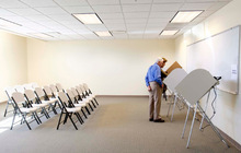 The Salt Lake Tribune Primary election in Utah on Sept. 13, 2011.