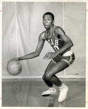 Tribune File Photo Mervin Jackson in University of Utah basketball uniform. Dec. 18, 1965.