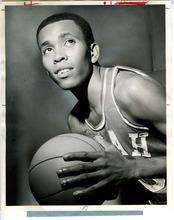 Tribune File Photo Mervin Jackson in University of Utah basketball uniform. Feb. 15, 1968.