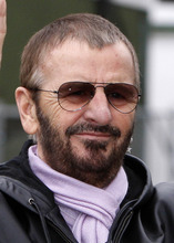 This is  Jan. 11, 2008, file photo of former member of the Beatles, Ringo Starr  in Liverpool, England.  (AP Photo/Jon Super, file)