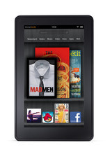 Bloomberg  Amazon.com Inc. unveiled its Kindle Fire tablet computer, taking aim at Apple Inc.'s bestselling iPad with a device that's smaller and less than half the price.