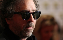 Director Tim Burton, from the film