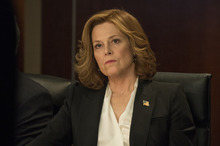 Courtesy photo Sigourney Weaver stars as Secretary of State Elaine Barrish, the former first lady, in