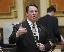 Al Hartmann  |  The Salt Lake Tribune Rep. Ken Ivory, R-West Jordan