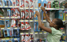 Kiichiro Sato  |  The Associated Press Although Target and Walmart stores generally price-match sale items, back-to-school loss leaders -- items priced below cost to attract shoppers -- make price-matching a bit trickier.