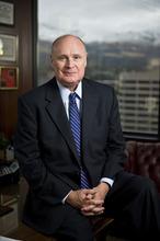 Rod Snow served as Utah State Bar president for 2011-12. Courtesy image.