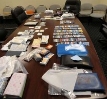 Example of evidence recovered from stolen motor home. Courtesy West Jordan Police Department