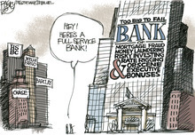 This Pat Bagley editorial cartoon appears in The Salt Lake Tribune on Friday, July 20, 2012.