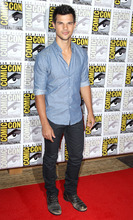 Actor Taylor Lautner arrives at the