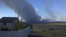 Photo of a Dumpfire in Saratoga Springs taken June 22, 2012 at 9:40 am MST. Courtesy Eric Bresee