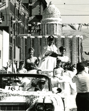 The royalty of the 1964 Days of '47 parade in Salt Lake City.