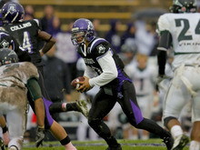 Junior Mike Hoke plays quarterback for Weber State University. Courtesy Weber State Athletics