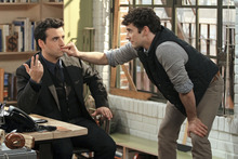 Courtesy photo David Krumholtz (left) and Michael Urie star in CBS'