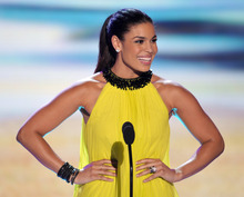 Jordin Sparks speaks onstage at the Teen Choice Awards on Sunday, July 22, 2012, in Universal City, Calif. (Photo by John Shearer/Invision/AP)