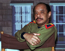 In this Aug. 11, 1986 file photo, actor Sherman Hemsley poses for a photo in Los Angeles. Hemsley, the actor who made the irascible, bigoted George Jefferson of