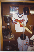 Cooperstown tribute to the 1987 Salt Lake Trappers baseball team that won 29 games in a row.