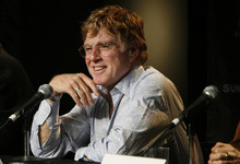 Robert Redford at the Sundance opening-night press conference in 2006. Tribune file photo