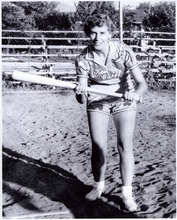 Utah Shamrock 1st baseman Donna Poll in 1953. Now 84, she lives in South Weber. Courtesy Donna Poll